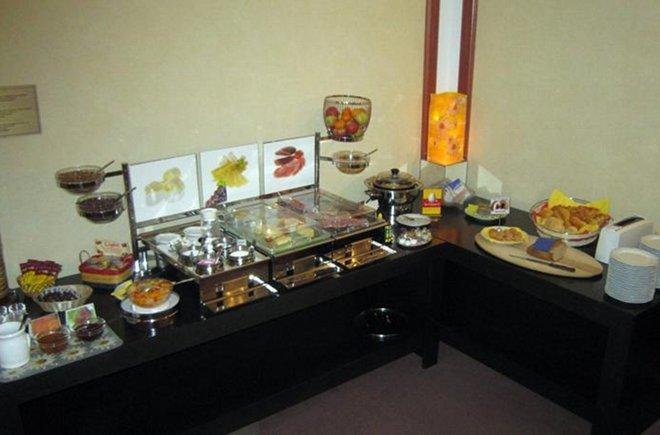 Hotel Elite reichhaltiges Frühstück