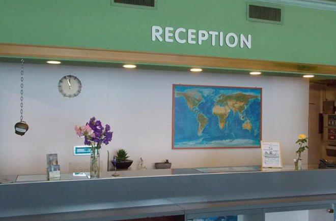 Reception im Hotel Elite