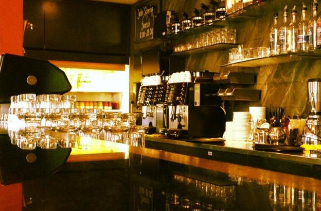 Die Cafe Bar im Hotel Emmental