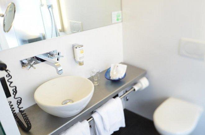 Hotel Freienhof Badezimmer