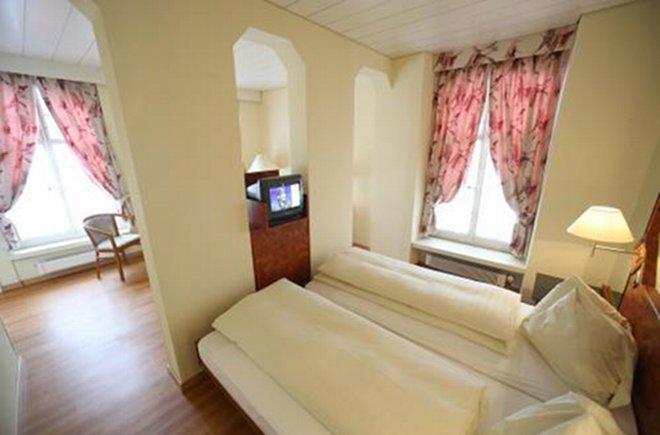 Ansprechende Zimmerausstattung im Hotel Krone