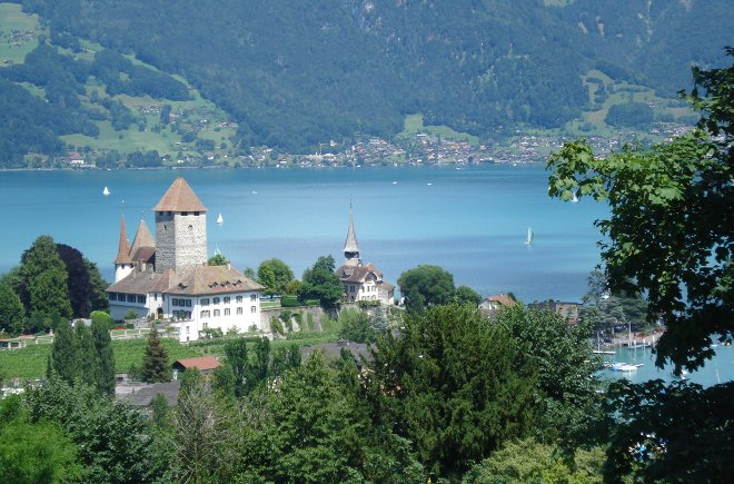 Schloss Spiez Thunersee